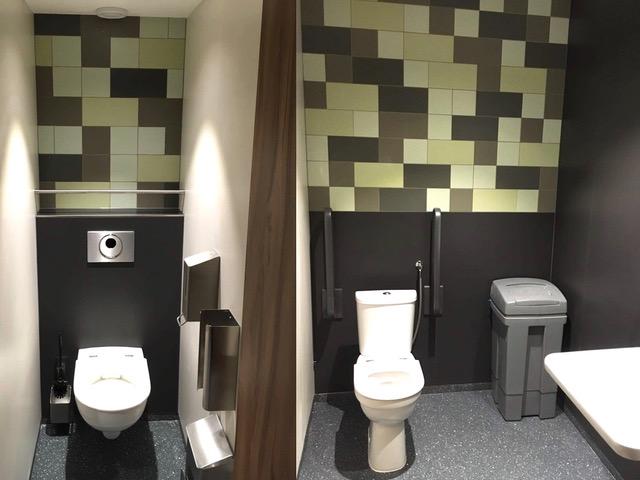 toiletten Universiteit Utrecht onderwijs