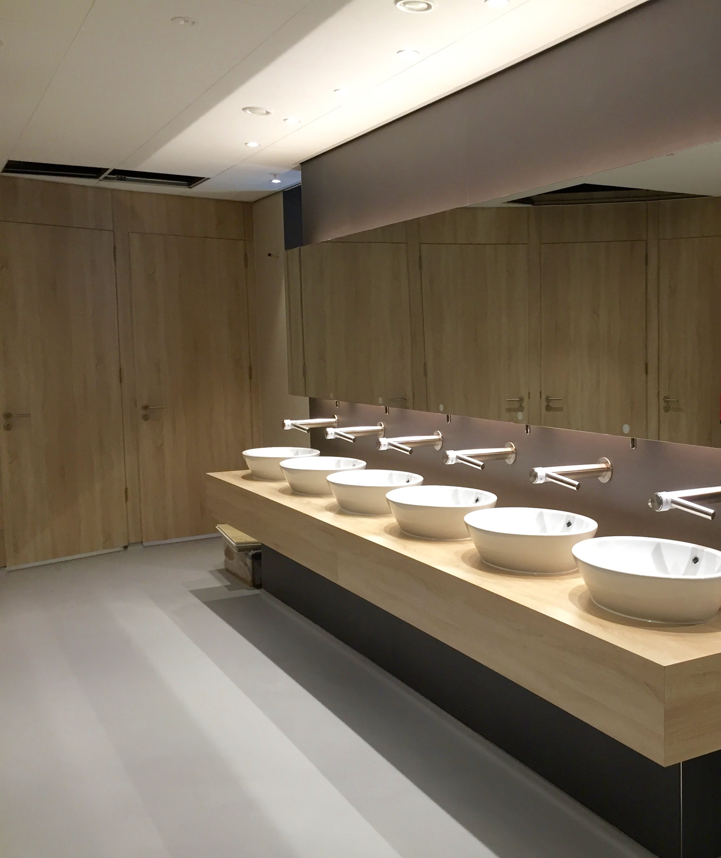 Toletto toiletten winkelcentrum Hoog Catharijne