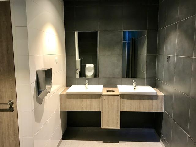 Toletto openbaar toilet Esso Rotselaar België