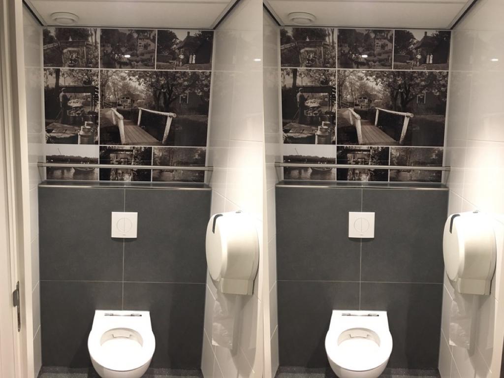 Toletto renovatie toiletten 't Zwaantje horeca