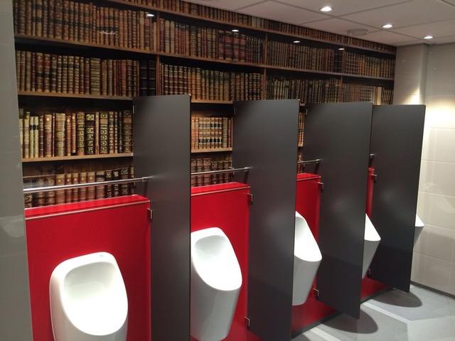 Toletto mooie toiletten Rijksuniversiteit Groningen
