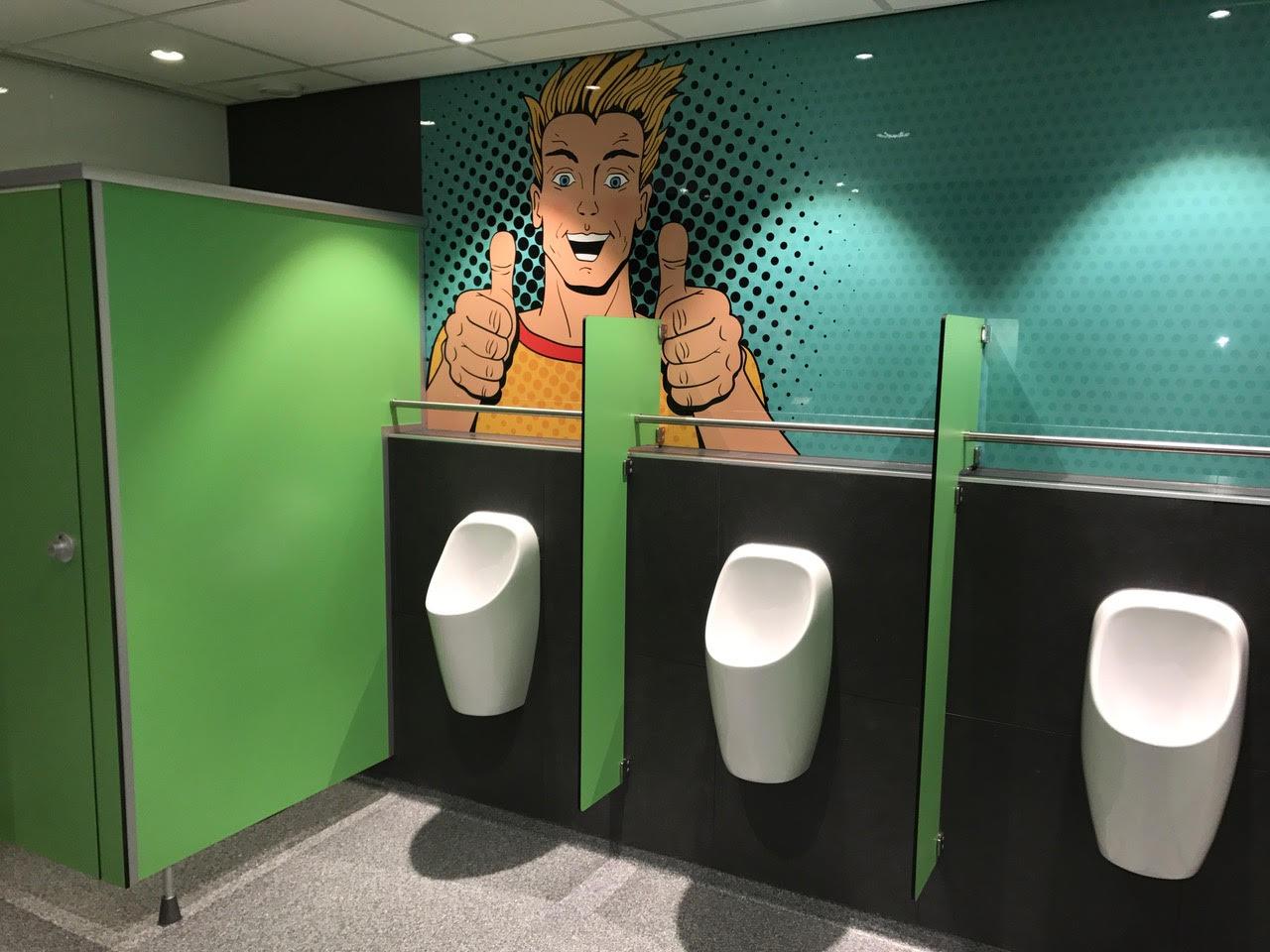 Vlietland College Leiden toilet renovatie Toletto 4