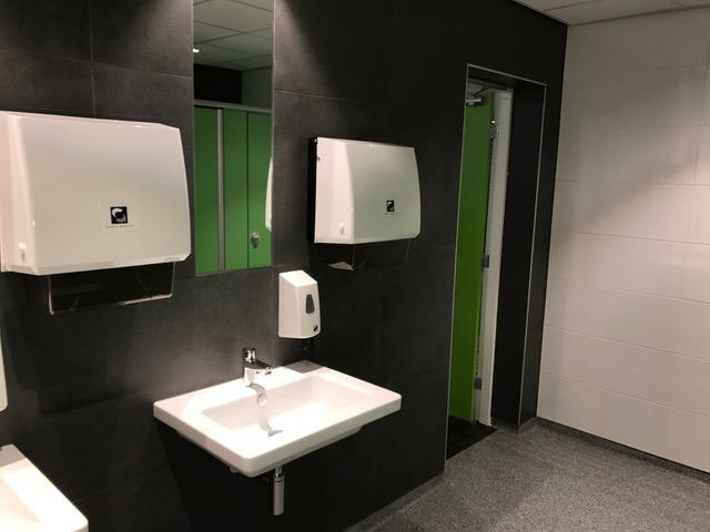 Vlietland College Leiden toilet renovatie Toletto 3