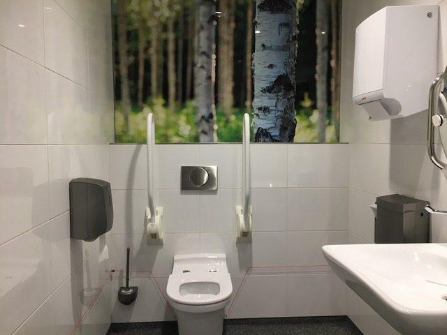 Toletto ziekenhuis toilet
