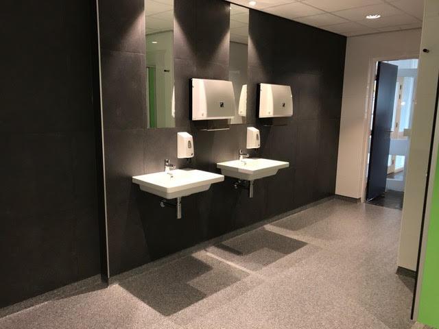 Vlietland College Leiden toilet renovatie Toletto 1