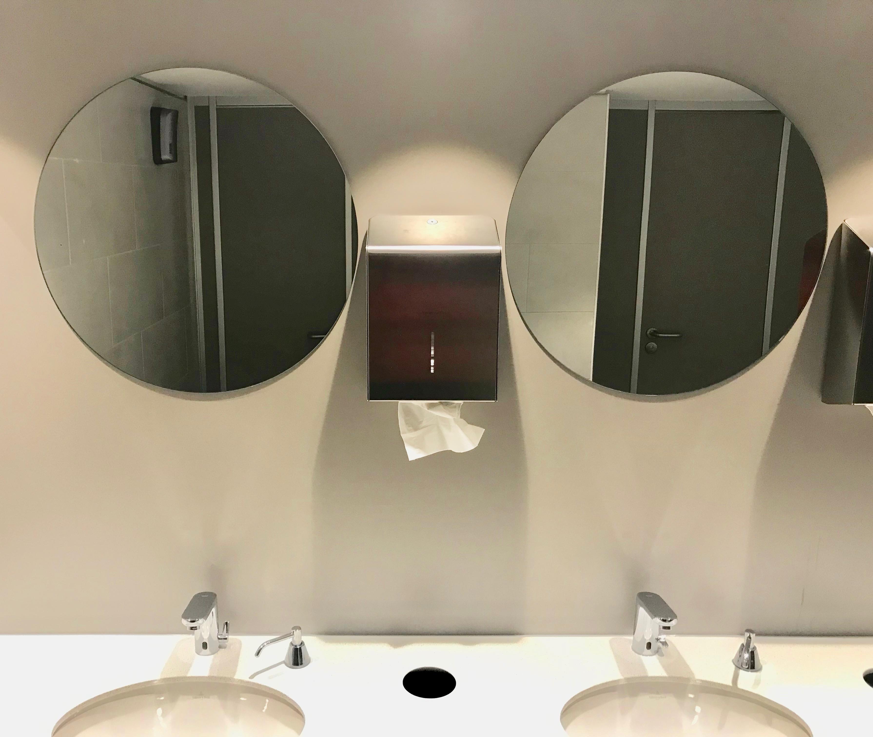Toletto toiletten Marriott hotel Amsterdam 2